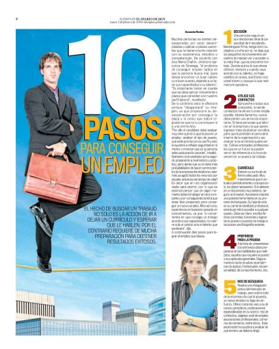 10 pasos para conseguir un empleo I parte